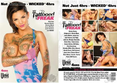 My Tattooed Freak XXX 2014 Full Movie