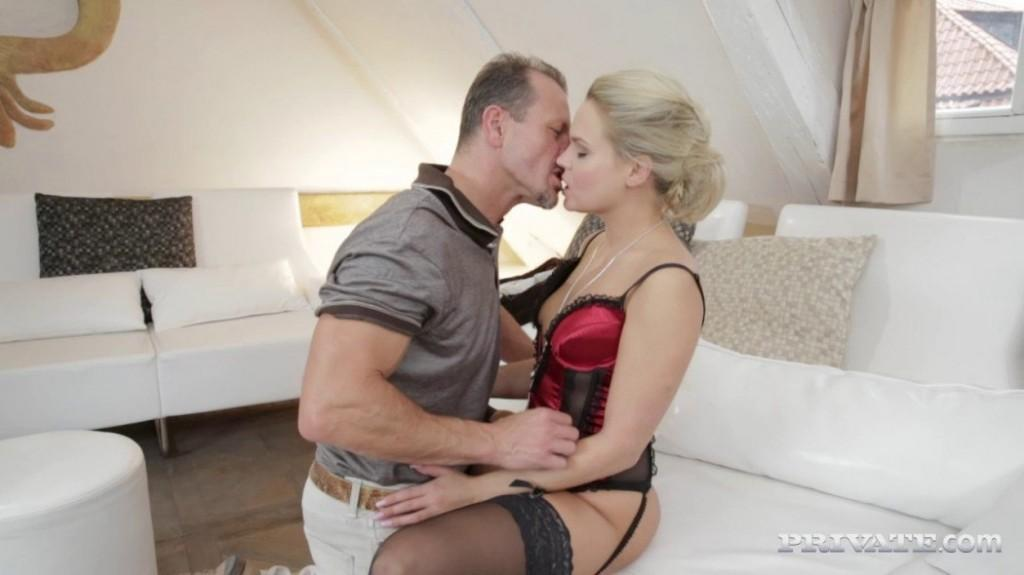 Blonde Barra Has a Valentines Day Fuck with Her Horny Friend 2014