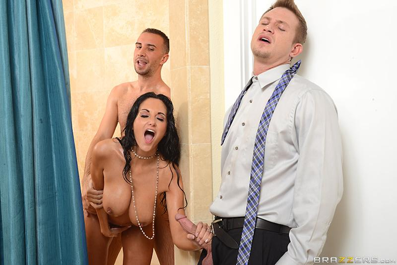 Double Timing Wife Ava Addams, Bill Bailey & Keiran Lee