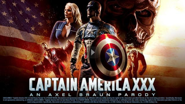 Captain America XXX: A Porn Parody Full Movie 2014