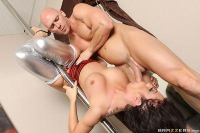 Amy Brooke Works the Pole Amy Brooke & Johnny Sins