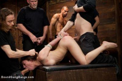 Tiffany Doll Gorgeous French Girl Taken Down in Rough Gangbang [Kink]