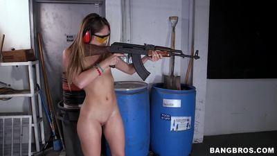 Remy Lacroix, 2 dicks, and guns