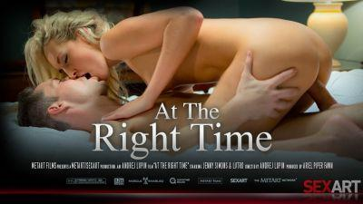 Jenny Simons – At The Right Time [SexArt]