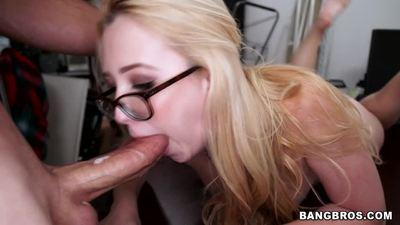 Samantha Rone Beautiful Blonde with Sweet Natural Boobs