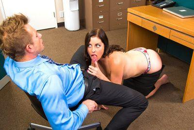 Sovereign Syre in Naughty Office