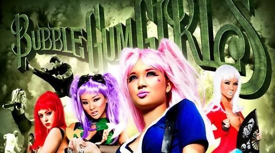 Bubble Gum Girls Full movie 2014