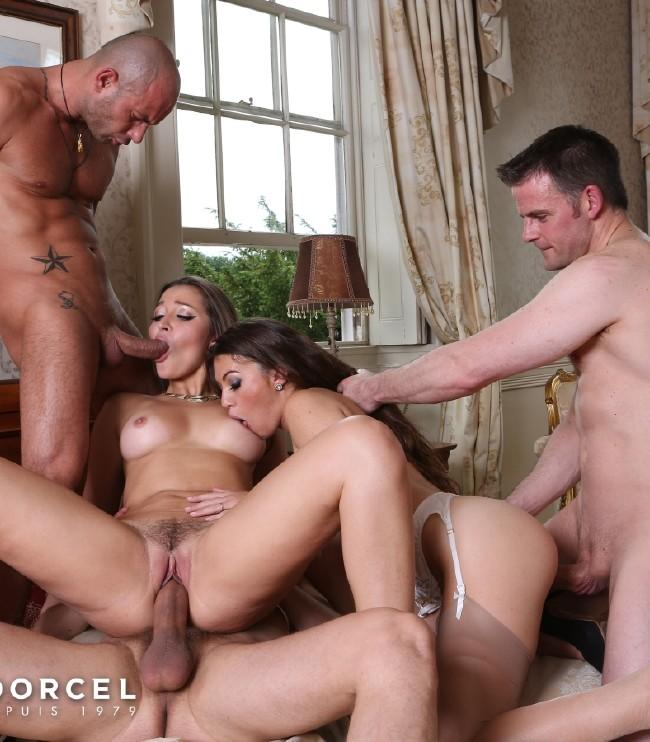 Ash Hollywood, Dani Daniels – A Great Birthday For 2 Bitches