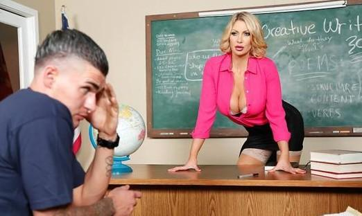 Leigh Darby – Teaching Miss Darby a Hard Lesson