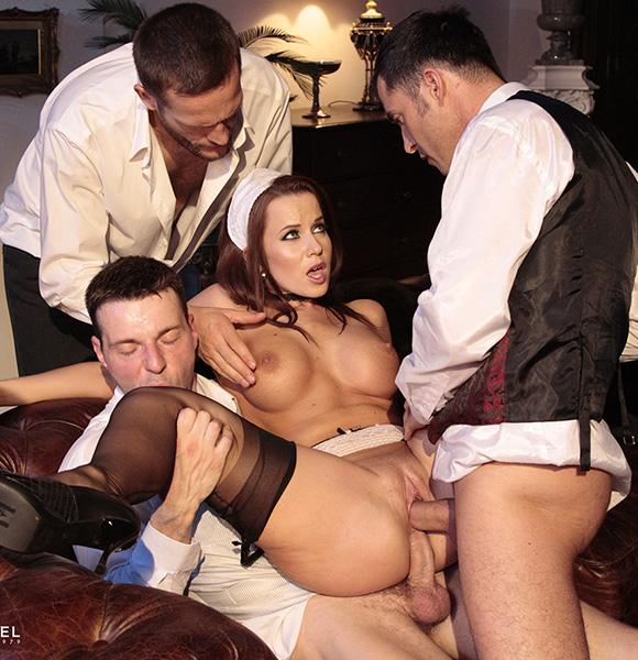 Cindy Dollar – The Maid Given Up To 3 Men
