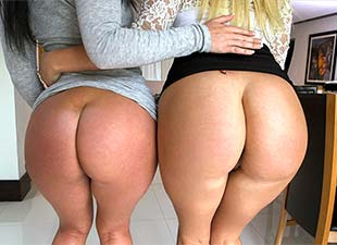 Layla Price, Brittany Shae – DOUBLE BIG WHITE BOOTY OVERDOSE