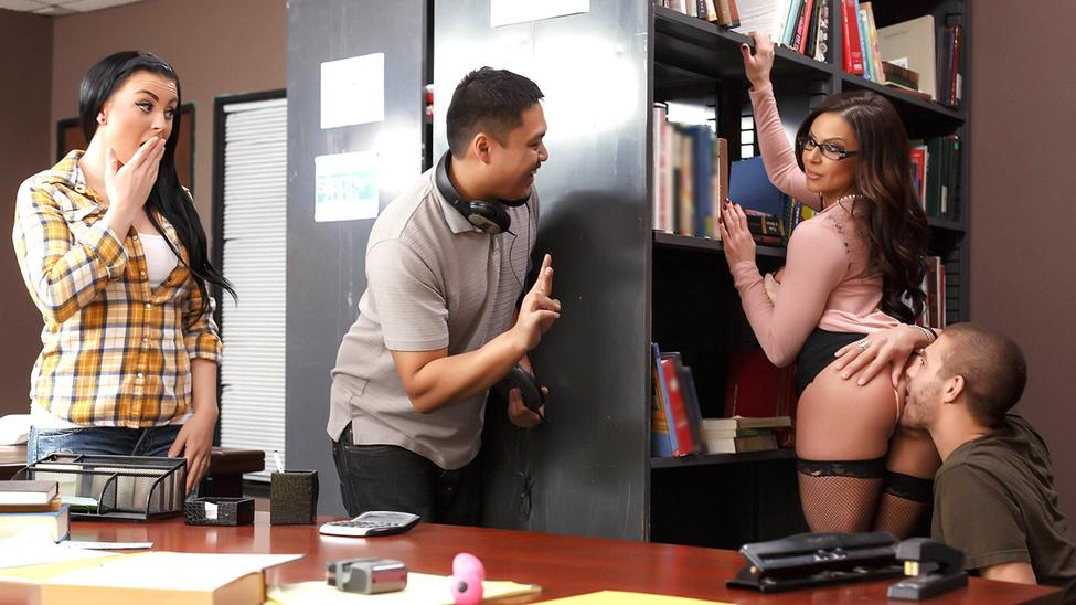Librarian Needs A Licking Kendra Lust & Xander Corvus