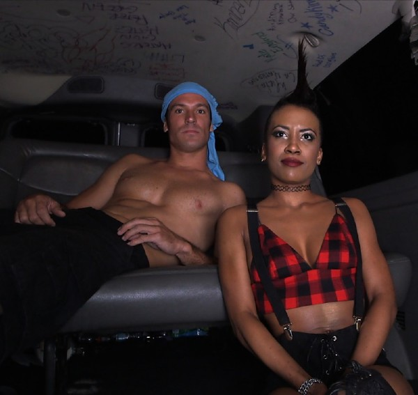 Ajaa xxx – After Dark Bus Ride With Sexy Punk Chick