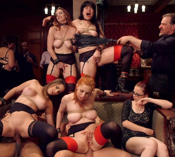 Bella Rossi, Mickey Mod, Siouxsie Q, Penny Pax, Ashley Adams, Seth Gamble – Hardcore Anal Celebration of Sexual Service