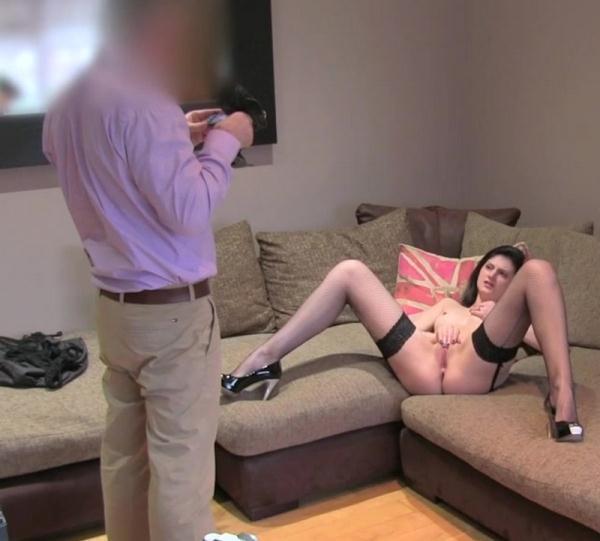 FakeAgentUK 173 – Amateur tries anal in porn casting