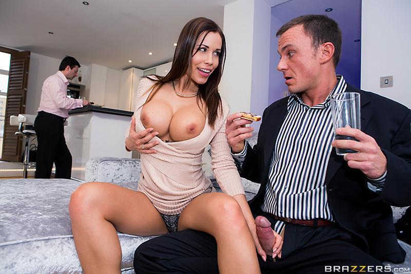 с женой босса порно фото