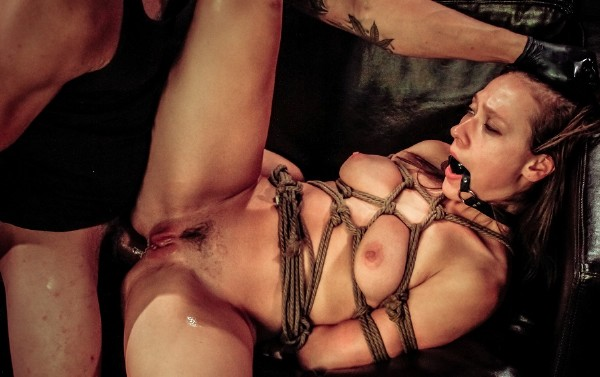 Callie Calypso Wants More Rope Bondage, Deepthroat BJ, Rough Anal Sex, Humiliation, Pup Play, Cum Eating
