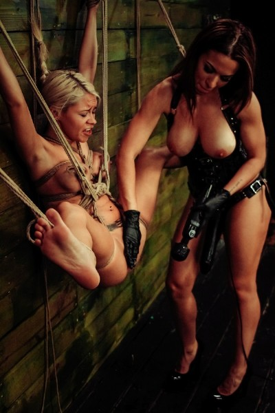 Marsha May, Kylie Rogue – Marsha May Endures Lesbian Rope Bondage with Kylie Rogue