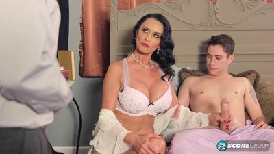 Rita Daniels Ass-Fucked Rita Humiliates Her Hubby