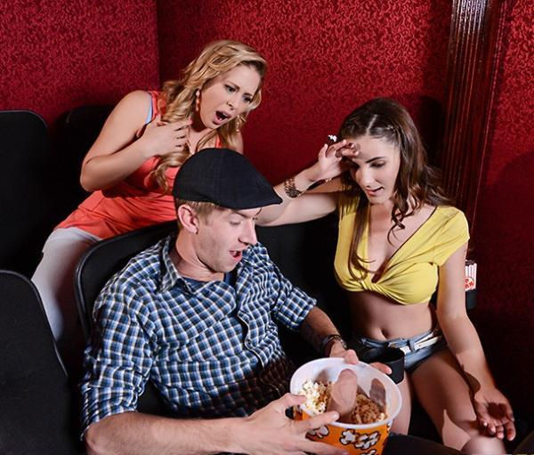 Cherie Deville, Molly Jane – A Movie Date Dicking