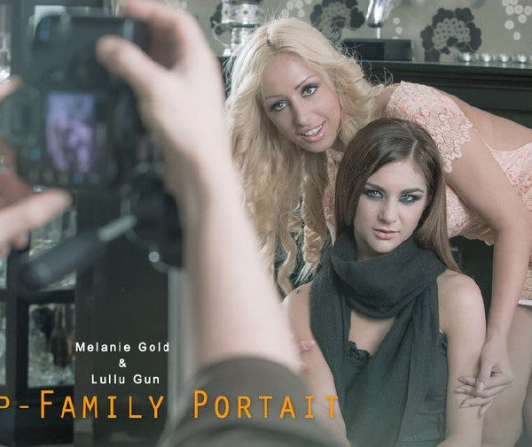 Lullu Gun, Melanie Gold – Step-Family Portait