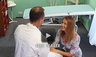 Fake Hospital – Sexy housewife cheats on hubby with her doctor