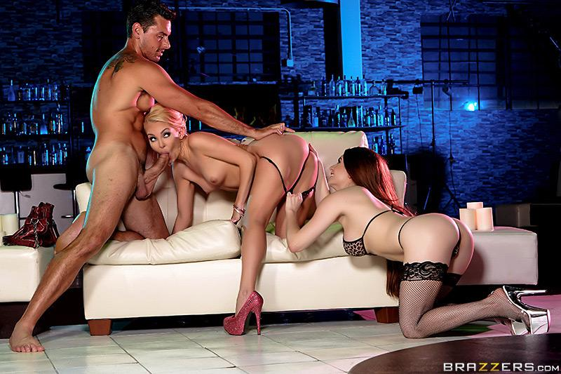 Pole Skills and Holes Filled Aaliyah Love, Veronica Vain & Ryan Driller