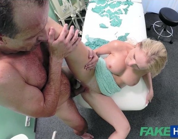 Rossella – Blonde with nice tits gets a full examination E182