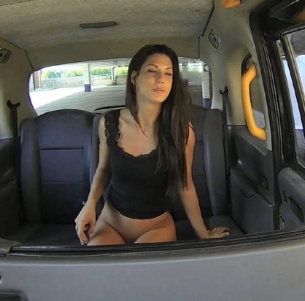 Cock teasing stunner gets big facial – Fake Taxi E272
