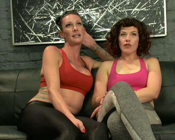 Morgan Bailey, Ingrid Mouth – Hard Body Trainer seduces fitness Client and Cums in her Ass