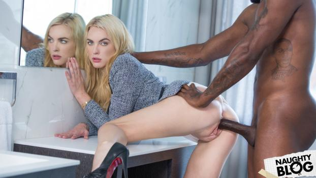 Keira Nicole – Blonde Gets BBC at Interview