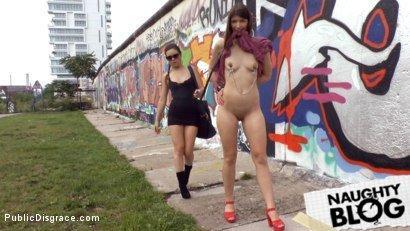 Public Disgrace – Juliette March & Suzan Ayn