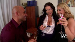 DDF Busty – Patty Michova And Kyra Hot