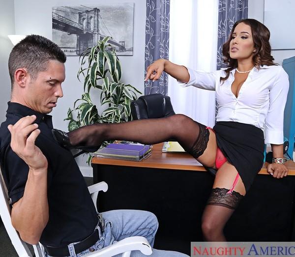 Mila Marx & Tyler Steel in Naughty Office