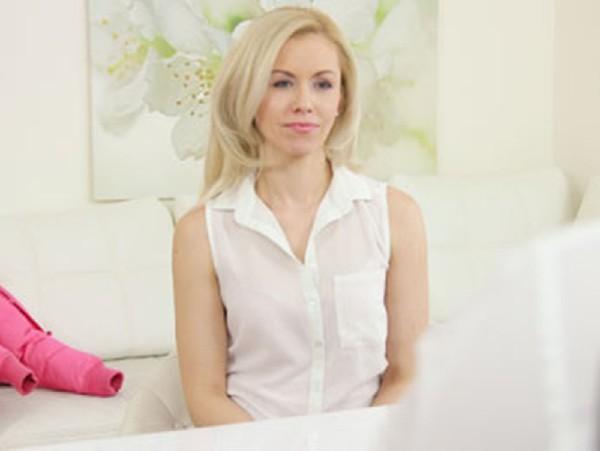 Linda Summer – Mature amateur in casitng interview