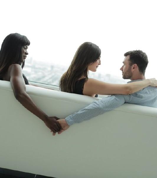 Pepper XO, Ana Foxxx, James Deen – Our First Threesome