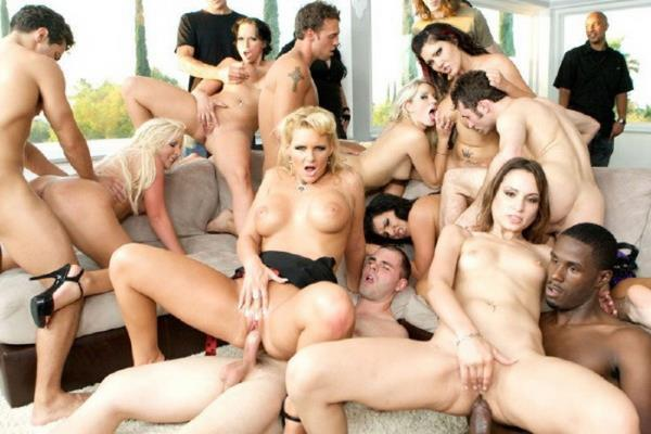 Ashli Orion, Claire Dames, Nikki Hunter, Phoenix Marie and Many More – Domestic Disturbance