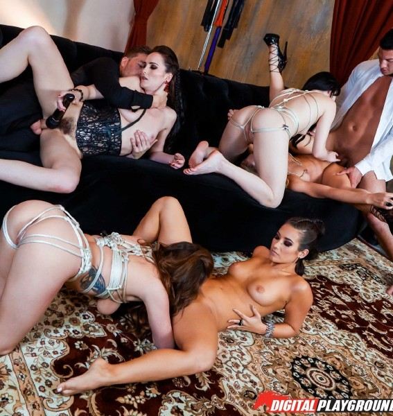 Eva Lovia, Cherie Deville, Bianca Breeze, Aria Alexander, Alice Lighthouse – Flesh: House of Hedonism-Episode 5