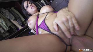 Ready Or Not Here I Cum – The Bombastic Ass Of Kesha Ortega