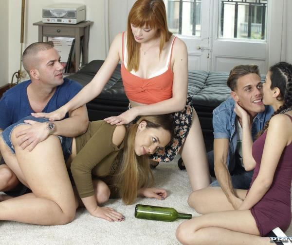 Anny Aurora, Briana Bounce, Penelope Cum – New Cummer Brianna Bounce Stars in Orgy With Penelope Cum and Anny Aurora