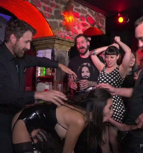 Frida Sante – Underground Goth Club turns into a Wild Fuck Party!