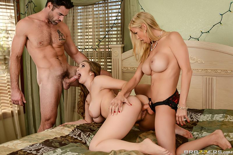 A Brazzers Christmas Special: Part 4 Charles Dera, Alexis Fawx & Lena Paul