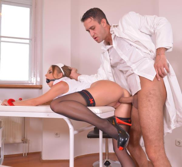 Candy Alexa – BDSM Prescription – Handcuffed And Gagged in The Clinic