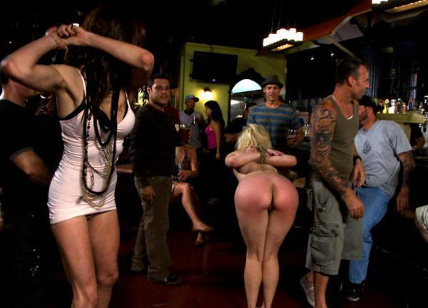 Alice Frost – Blonde Cutie Tied-up and Ass Fisted in Public!!!
