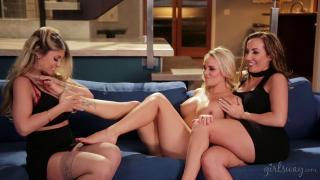 Girls Way – Alexis Monroe Richelle Ryan And Kayla Kayden Lesbian Companions Part Two