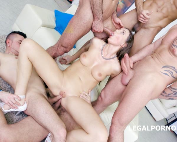 Tina Kay – 7 On 1 Double Anal GangBang With Tina Kay She Is A Pro Slut!