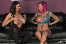 Anna Bell Peaks And Missy Martinez - WildOnCam