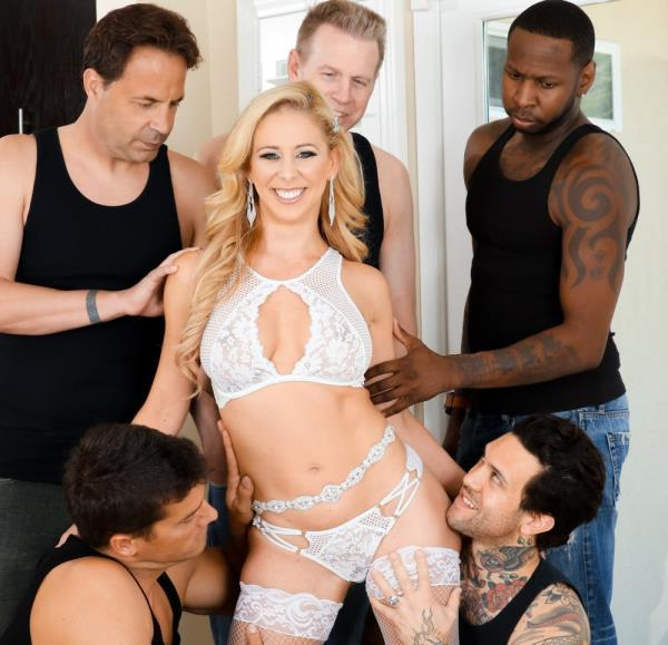 Cherie DeVille – LeWood Gangbang: Battle Of The MILFs 2, Scene 1