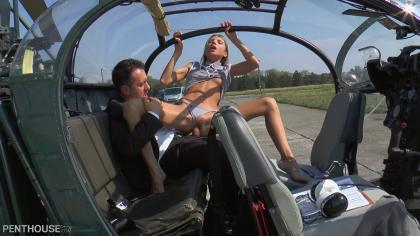 Penthouse – Gina Gerson in Helicopter Sex