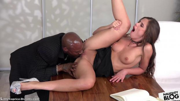 Little Caprice Dreams – My First Time Going Black